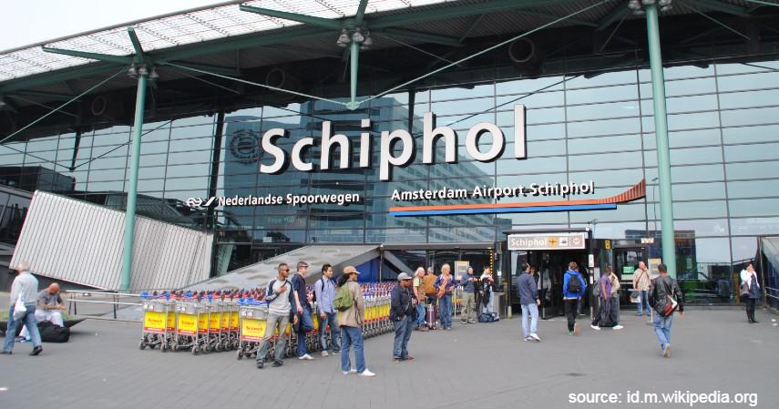 Amsterdam Airport Schiphol - 10 Bandara Tersibuk di Dunia dengan Lalu Lintas Udara Terpadat