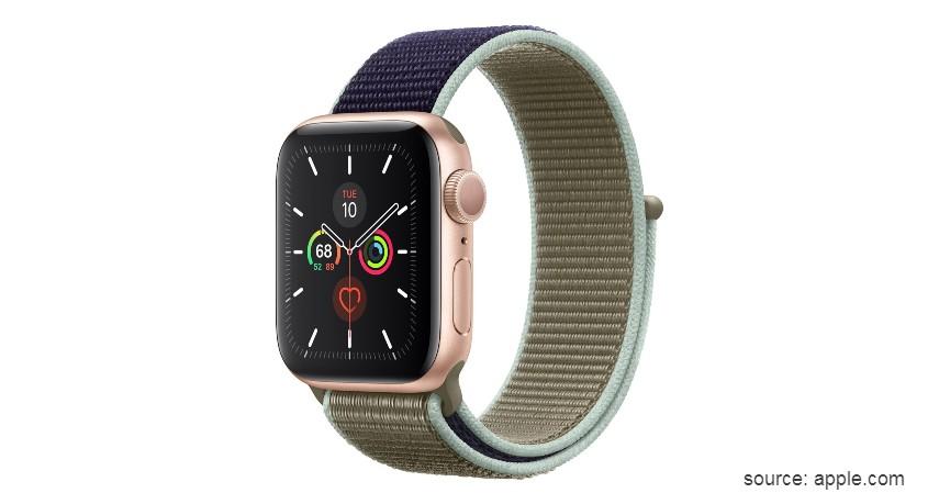 Apple Watch 5 - 10 Merek Smartwatch Terbaik dan Berkualitas