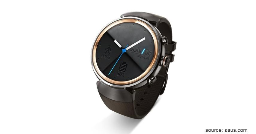 Asus ZenWatch 3 - 10 Merek Smartwatch Terbaik dan Berkualitas