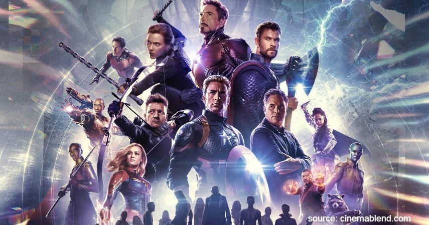 Avengers Endgame - 13 Film Superhero Hollywood Terbaik yang Wajib Ditonton