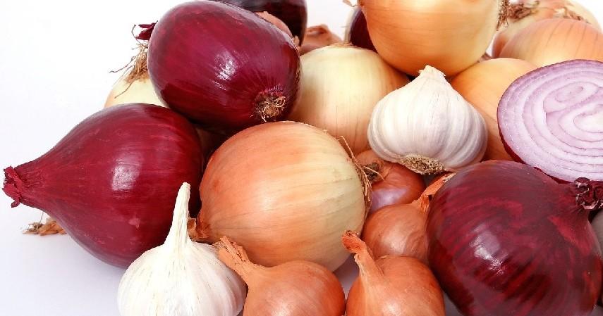 Bawang merah - 10 Makanan yang Membuat Bau Badan beserta Cara Menghilangkannya