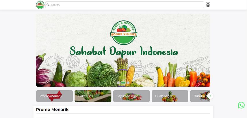 Bogorveggies - 15 Daftar Penjual Sayur dan Buah Online Terlengkap