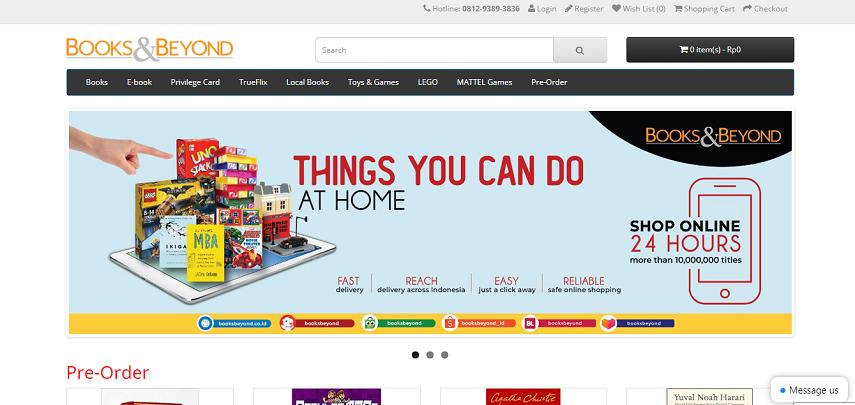 Books Beyond - 6 Cara Membeli Buku Import Online dengan Mudah dan Cepat