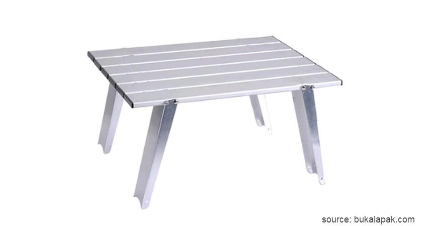 Bulin - Meja Lipat Alumunium - Rekomendasi Meja Lipat Terbaik