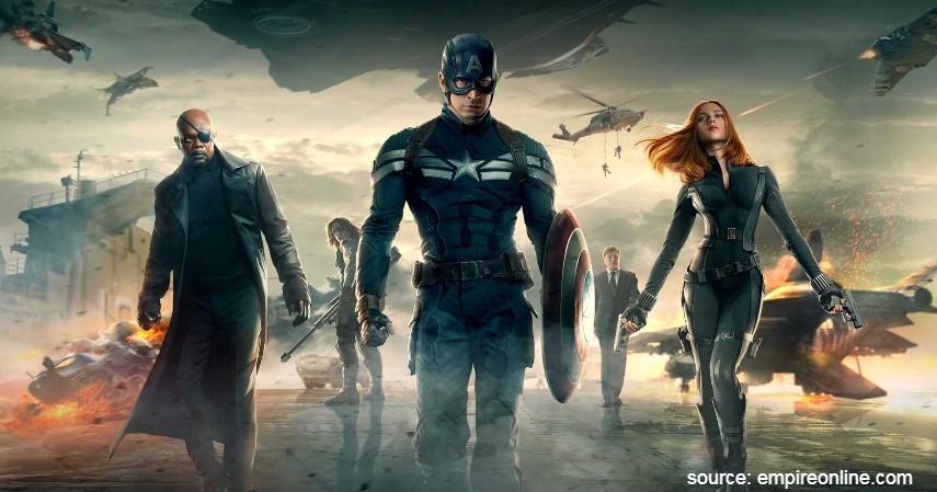 Captain America The Winter Soldier - 13 Film Superhero Hollywood Terbaik yang Wajib Ditonton