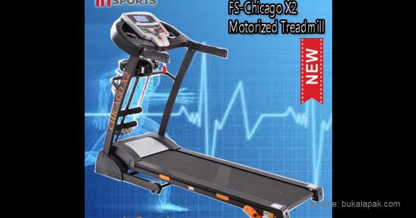 Chicago – X2 - 10 Merek Treadmill Terbaik dan Murah Bikin Semangat Fitness di Rumah!