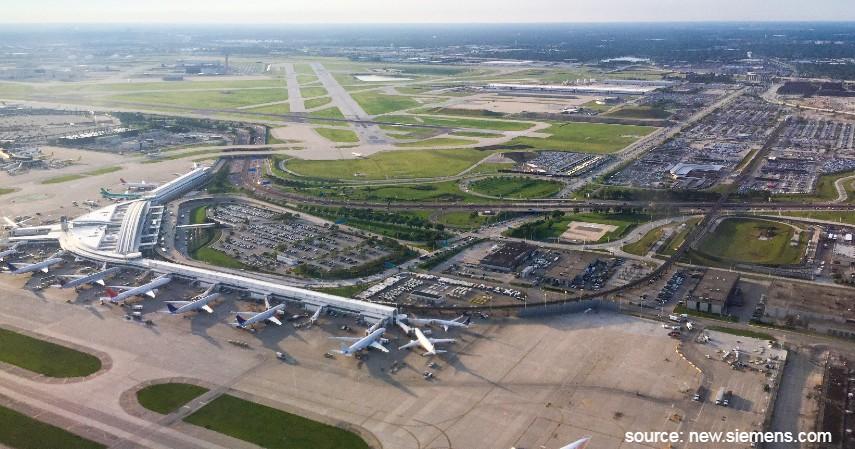 Chicago O Hare International Airport - 10 Bandara Tersibuk di Dunia dengan Lalu Lintas Udara Terpadat