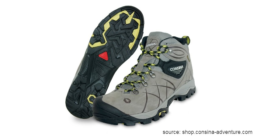 Consina - 10 Merk Sepatu Hiking Terbaik