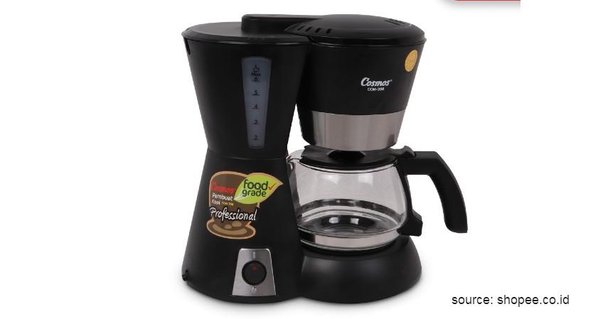 Cosmos Coffee Maker – CCM 308 - 12 Merek Mesin Kopi Terbaik Favorit Banyak Orang