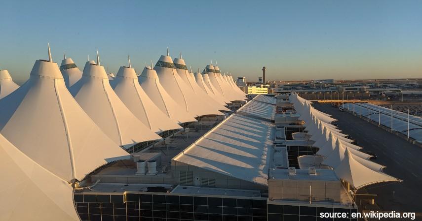 Denver International Airport - 10 Bandara Tersibuk di Dunia dengan Lalu Lintas Udara Terpadat
