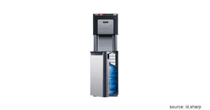 Dispenser Sharp - SWD 72 EHL BK - Daftar Dispenser Air Galon Terbaik 2020