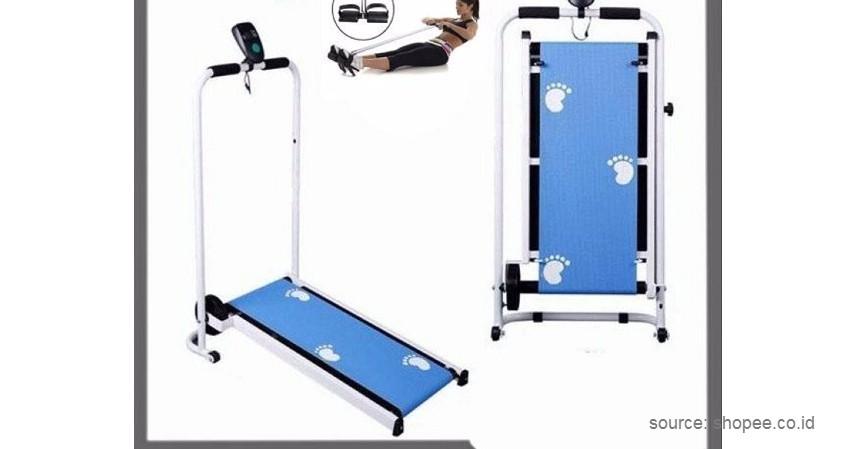 Divo – Manual Mini 1 Fungsi - 10 Merek Treadmill Terbaik dan Murah Bikin Semangat Fitness di Rumah!