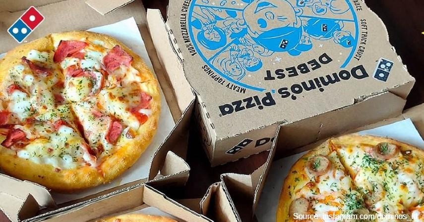 Domino's Pizza - 10 Restoran Cepat Saji Terbesar di Dunia