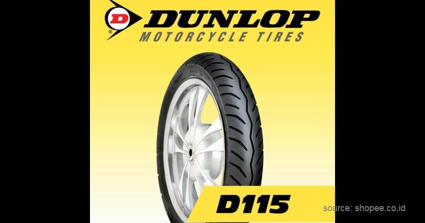 Dunlop - 10 Ban Tubeless Sepeda Motor Terbaik Ini Aman Dipakai Disegala Kondisi