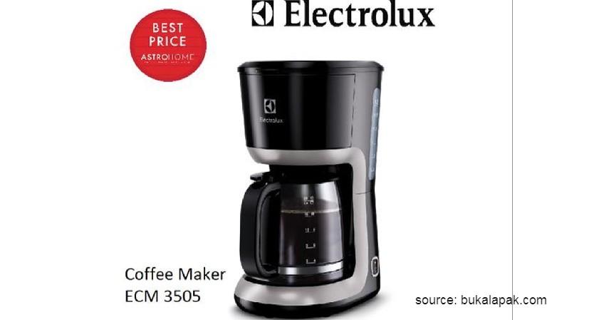 Electrolux – ECM 3505 - 12 Merek Mesin Kopi Terbaik Favorit Banyak Orang