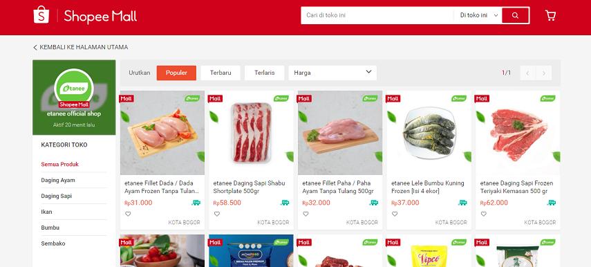 Etaneeid - 15 Daftar Penjual Sayur dan Buah Online Terlengkap