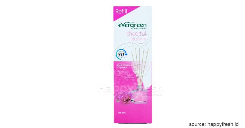 Evergreen Reed Diffuser - 7 Rekomendasi Reed Diffuser Wangi dan Tahan Lama