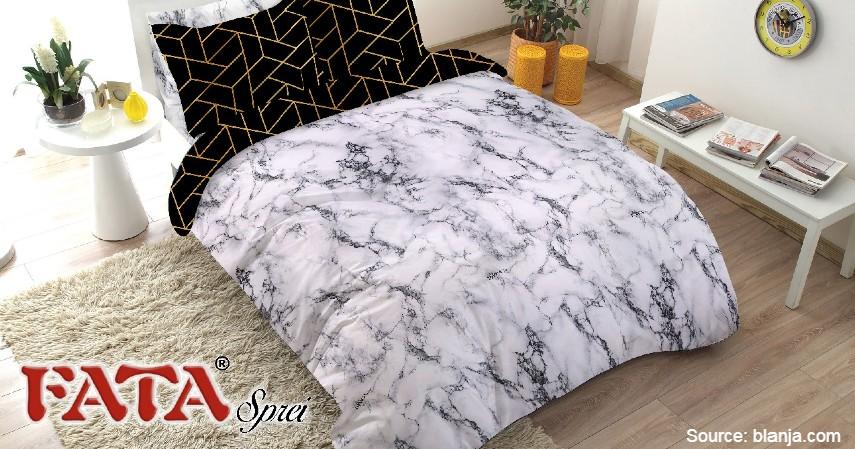 Fata - 8 Merek Bed Cover Terbaik yang Bikin Tidur Makin Nyenyak