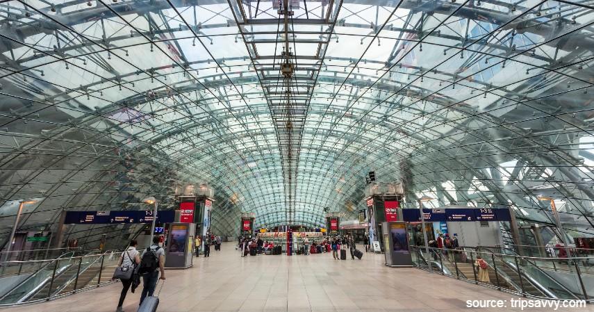 Frankfrut Airport - 10 Bandara Tersibuk di Dunia dengan Lalu Lintas Udara Terpadat