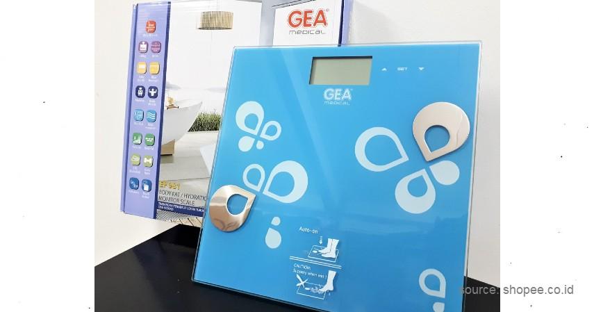 GEA Timbangan Badan Digital - 10 Merek Timbangan Badan Digital Terbaik untuk Mengontrol Berat Badan Selama Pandemi