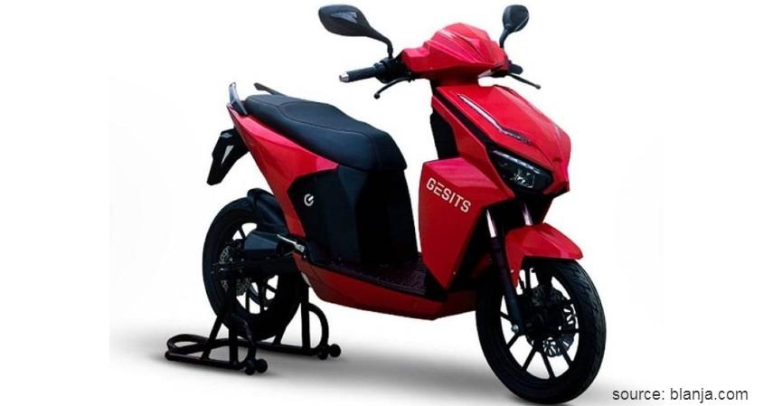 GESITS - 5 Daftar Harga Motor Listrik di Indonesia Mulai dari Rp8 Jutaan