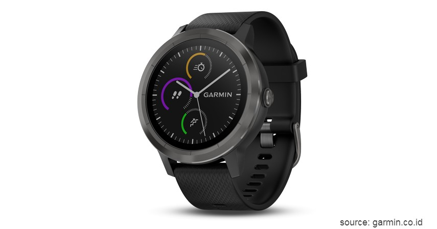 Garmin Vivoactive 3 - 10 Merek Smartwatch Terbaik dan Berkualitas