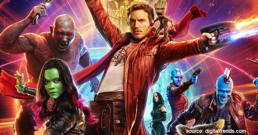 Guardians of The Galaxy - 13 Film Superhero Hollywood Terbaik yang Wajib Ditonton