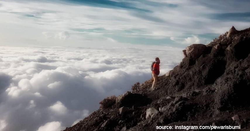 Gunung Slamet - 10 Gunung Tertinggi di Indonesia