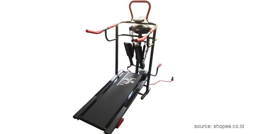 Hanatha – HATM004 - 10 Merek Treadmill Terbaik dan Murah Bikin Semangat Fitness di Rumah!
