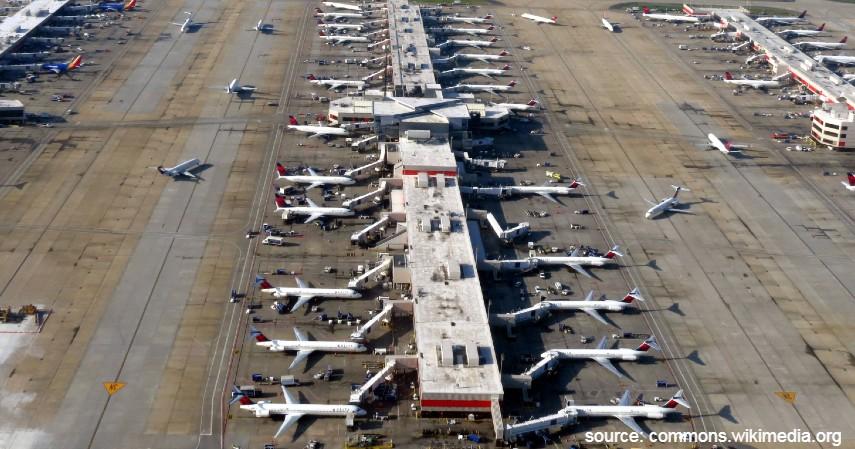 Hartsfield-Jackson Atlanta International Airport - 10 Bandara Tersibuk di Dunia dengan Lalu Lintas Udara Te
