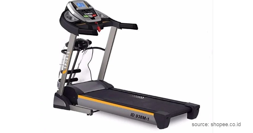 Idachi – Motorized Treadmill - 10 Merek Treadmill Terbaik dan Murah Bikin Semangat Fitness di Rumah!
