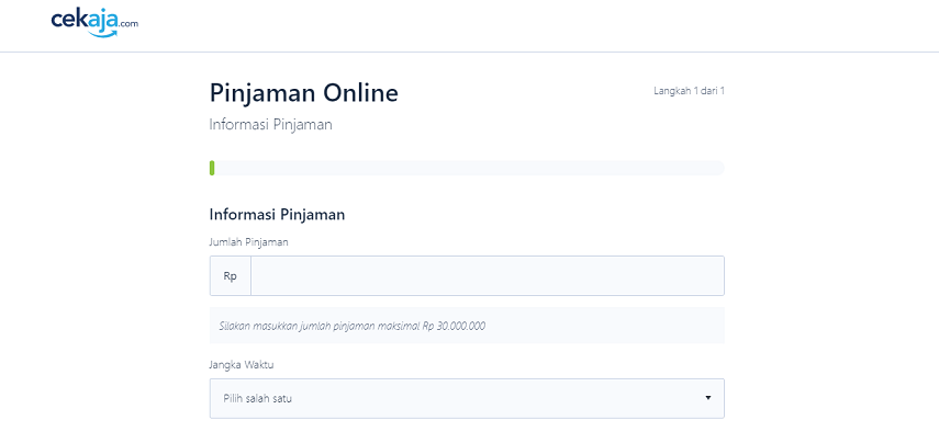 Isi Formulirnya Sesuai Kebutuhan Pinjaman Nasabah - Cara Mengajukan Pinjaman Online Kredivo Melalui CekAja