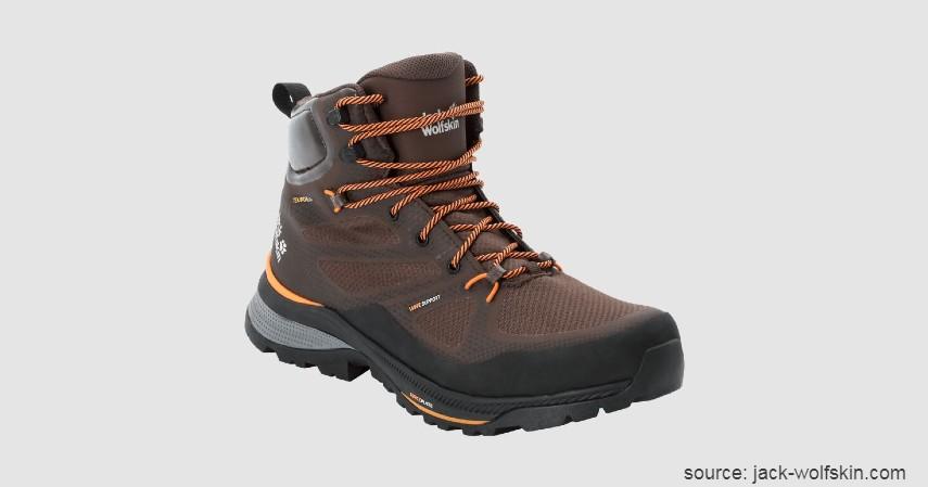 Jack Wolfskin - 10 Merk Sepatu Hiking Terbaik