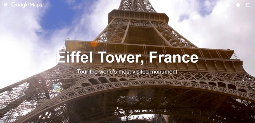 Jalan-jalan Virtual ke Menara Eiffel Paris - Jalan-Jalan Virtual Asyik dan Seru di Tengah Pandemi