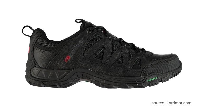Karrimor - Summit Mens Leather Walking Shoes - 10 Merk Sepatu Hiking Terbaik