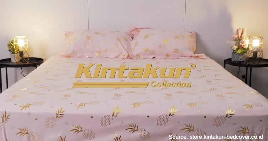 Kintakun - 8 Merek Bed Cover Terbaik yang Bikin Tidur Makin Nyenyak