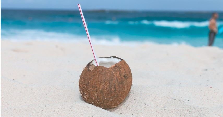 Konsumsi air kelapa muda - 8 Obat Alami Penurun Panas Anak Para Orangtua Wajib Tahu