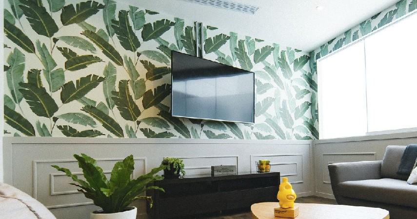 Lakukan pencegahan jika wallpaper tidak pas atau robek - Cara Memasang Wallpaper Dinding