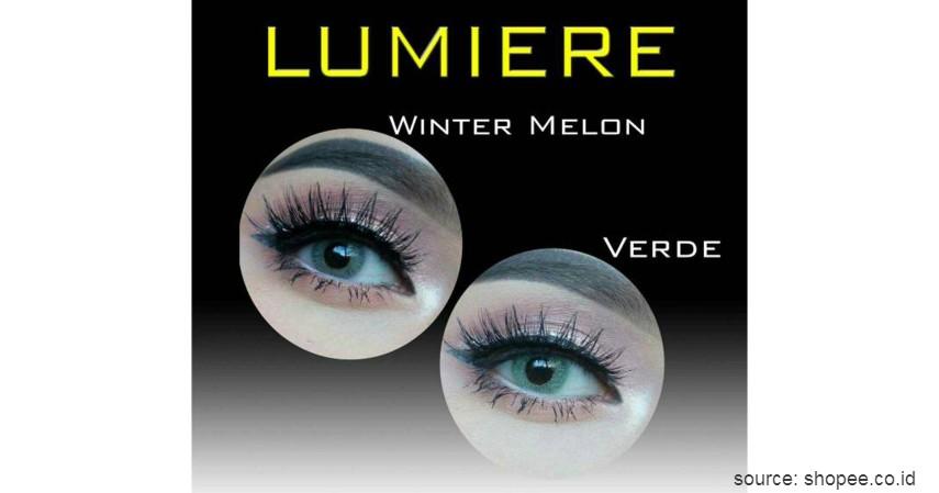 Lumiere - Softlens Winter Melon - 10 Merek Softlens Terbaik