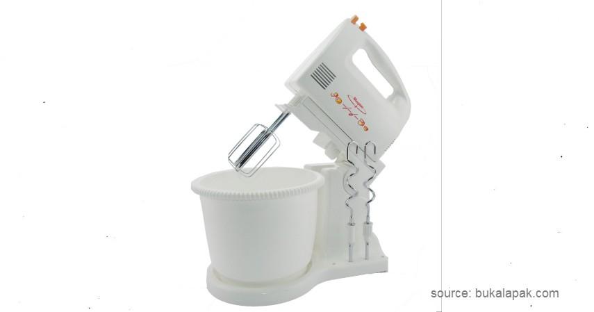 Maspion Stand Mixer MT 1140 - 8 Merek Mixer Terbaik yang Bisa Dijadikan Pilihan untuk Pemula (1)