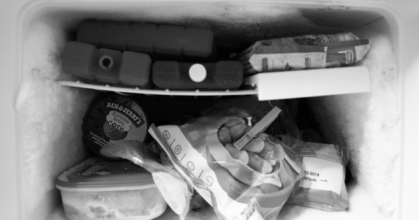Memasukkan semua jenis frozen food ke freezer - 8 Cara Simpan Makanan Saat Mati Listrik