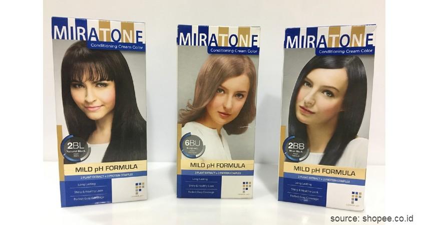 Miratone Conditioning Cream Color - 10 Merek Cat Rambut Terbaik untuk Pria Ini Wajib Dicoba