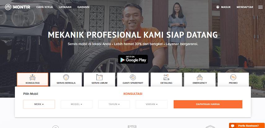 Montir.id - Daftar Bengkel Mobil Online di Berbagai Kota di Indonesia