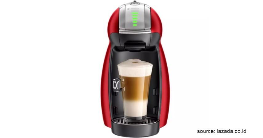 Nescafe – Dolce Gusto Genio 2 (Red) - 12 Merek Mesin Kopi Terbaik Favorit Banyak Orang