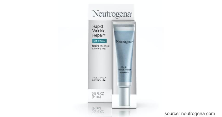 Neutrogena Rapid Wrinkle Repair Eye Cream - 9 Rekomendasi Eye Cream Terbaik