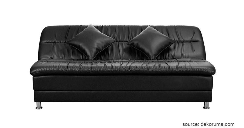 OLC - Sofabed Quincy hitam - 9 Merek Sofabed Terbaik dan Murah Harga di Bawah 5 Juta