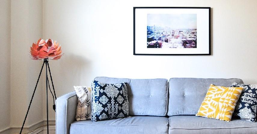 Pastikan dinding bebas dari rembesan air hujan - Cara Memasang Wallpaper Dinding