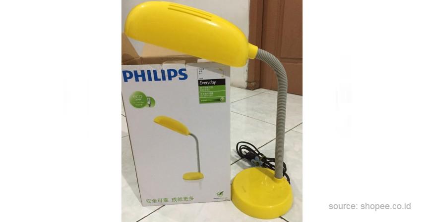 Philips - 10 Merek Lampu Meja Terbaik untuk Bantu Aktivitas Belajar di Rumah