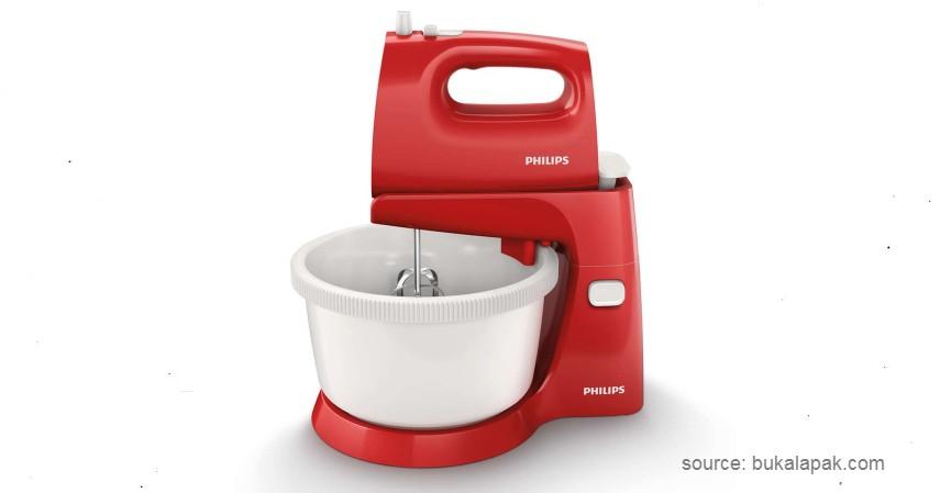Philips Stand Mixer HR 1559 - 8 Merek Mixer Terbaik yang Bisa Dijadikan Pilihan untuk Pemula (1)