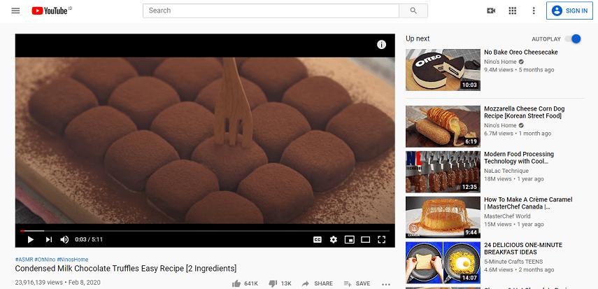 Pilih video Youtube yang ingin disimpan - 6 Cara Menyimpan Video dari Youtube Termudah Tanpa Aplikasi